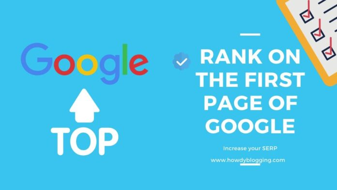 SERP SEO Top Rank Google Search Engine